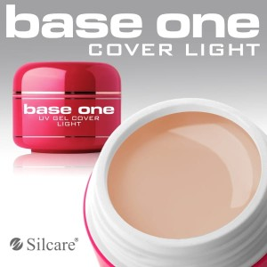 Silcare Żel Uv Base One Cover Light 50g