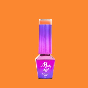 Molly Lac 132 Bubble Tea Tropical Maracuja lakier hybrydowy 5ml
