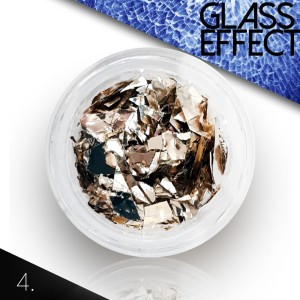 "4. Folia Holograficzna ""Glass Broken Mirror Effect"""