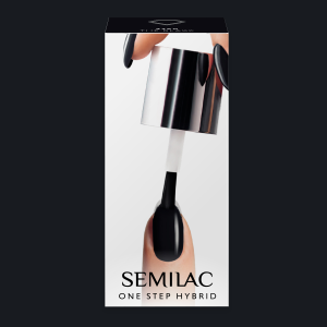 Semilac S190 One Step Hybrid The Black 5ml