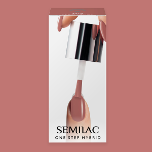 Semilac S240 One Step Hybrid Peach Beige 5ml