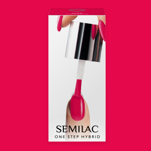 Semilac S680 One Step Hybrid Magenta 5ml