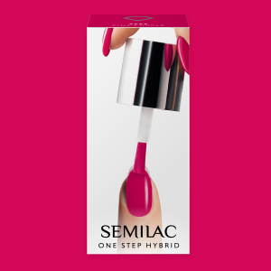 Semilac S685 One Step Hybrid Pink Purple 5ml